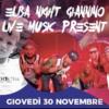 GIOVEDI' 30/11 – ELBA NIGHT